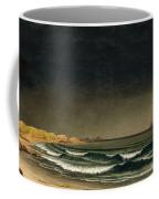 Approaching Storm. Beach Near Newport Coffee Mug