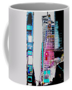 Approaching Times Square Coffee Mug