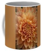 Apricot Dahlia Coffee Mug