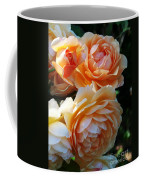 Apricot Dahlias Coffee Mug