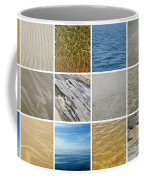 April Beach 2.0 Coffee Mug by Michelle Calkins