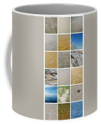 April Beach Coffee Mug by Michelle Calkins