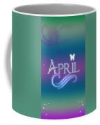 April Name Art Coffee Mug