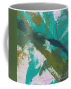Aqua And Green Coffee Mug