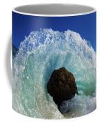 Aqua Dome Coffee Mug by Sean Davey