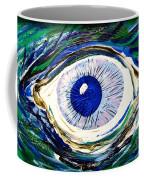 Aqua Eye Coffee Mug