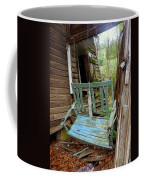 Aqua Porch Swing Coffee Mug