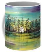 Aqua Sunset Coffee Mug