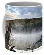Sunrise Fog Landscape Coffee Mug