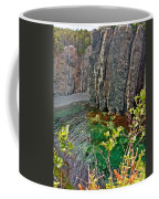 Aquamarine Water In Trinity Bay Near Skerwink Trail-nl Coffee Mug