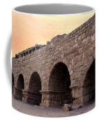 Aqueduct At Caesarea   Coffee Mug