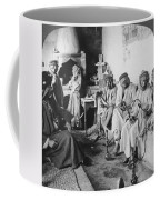 Arab Men At Leisure Coffee Mug