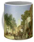 Arab Street Scene Coffee Mug