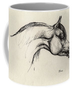 Arabian Horse Drawing 30 Coffee Mug