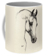 Arabian Horse Drawing 32 Coffee Mug