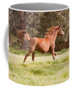 Arabian Horse Running Free Coffee Mug