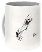 Arabian Horse Sketch 2014 05 24 G Coffee Mug