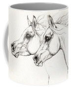 Arabian Horses 2014 02 25 Coffee Mug
