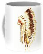 Arapaho War Bonnet Coffee Mug