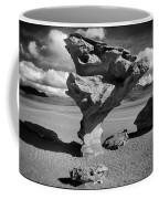 Arbol De Piedra Black And White Framed Coffee Mug