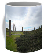 Arc Of Stones At The Ring Of Brodgar Coffee Mug