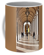 Arcades Of Lisbon Coffee Mug