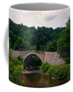 Arch Bridge Across Casselman River Coffee Mug