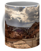 Arch Bridge And Hoover Dam Coffee Mug by Robert Bales