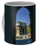 Arch Of Constantine Coffee Mug