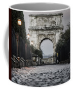 Arch Of Titus Morning Glow Coffee Mug