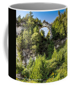 Arch Rock Mackinac Island Michigan Coffee Mug