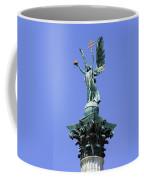 Archangel Gabriel Statue In Budapest Coffee Mug