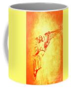 Archangel Michael  Coffee Mug by Lali Kacharava