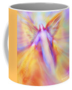 Archangel Uriel In Flight Coffee Mug
