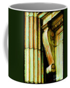 Archatectural Elements  Digital Paint Coffee Mug by Debbie Portwood