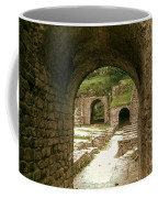 Arched Entrance To Fiesole Theatre Coffee Mug