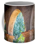 Arches At Mission San Juan Capistrano Coffee Mug