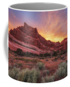 Arches Fire In The Sky Coffee Mug