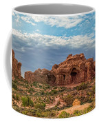Arches National Park Pano Coffee Mug