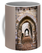Arches Of Valentre Bridge In Cahors France Coffee Mug