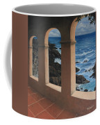 Arches Over The Ocean Coffee Mug