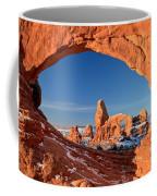 Arches Sandstone Frame Coffee Mug