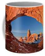 Arches Window Frame Coffee Mug