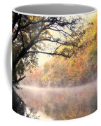 Arching Tree On The Current River Coffee Mug