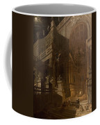 Architectural Fantasy With Figures Coffee Mug by Stefano Orlandi