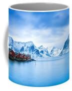 Arctic Dawn Lofoten Islands Coffee Mug