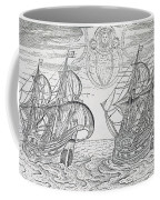 Arctic Phenomena From Gerrit De Veer S Description Of His Voyages Amsterdam 1600 Coffee Mug