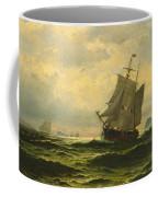 Arctic Whalers Homeward Bound Coffee Mug