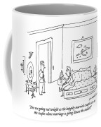 Are We Going Out Tonight As The Happily Married Coffee Mug
