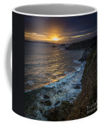 Ares Estuary Mouth Galicia Spain Coffee Mug